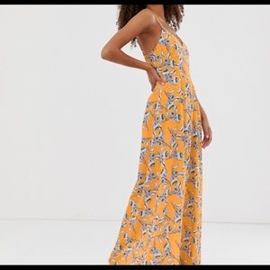 ASOS Parisian printed maxi dress